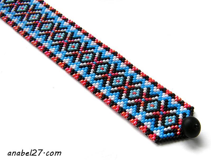 peyote bracelet beadwork jewelry seed bead bracelet