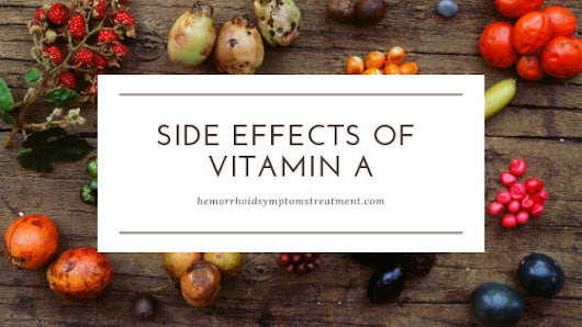 Side Effects of Vitamin A 25000 IU