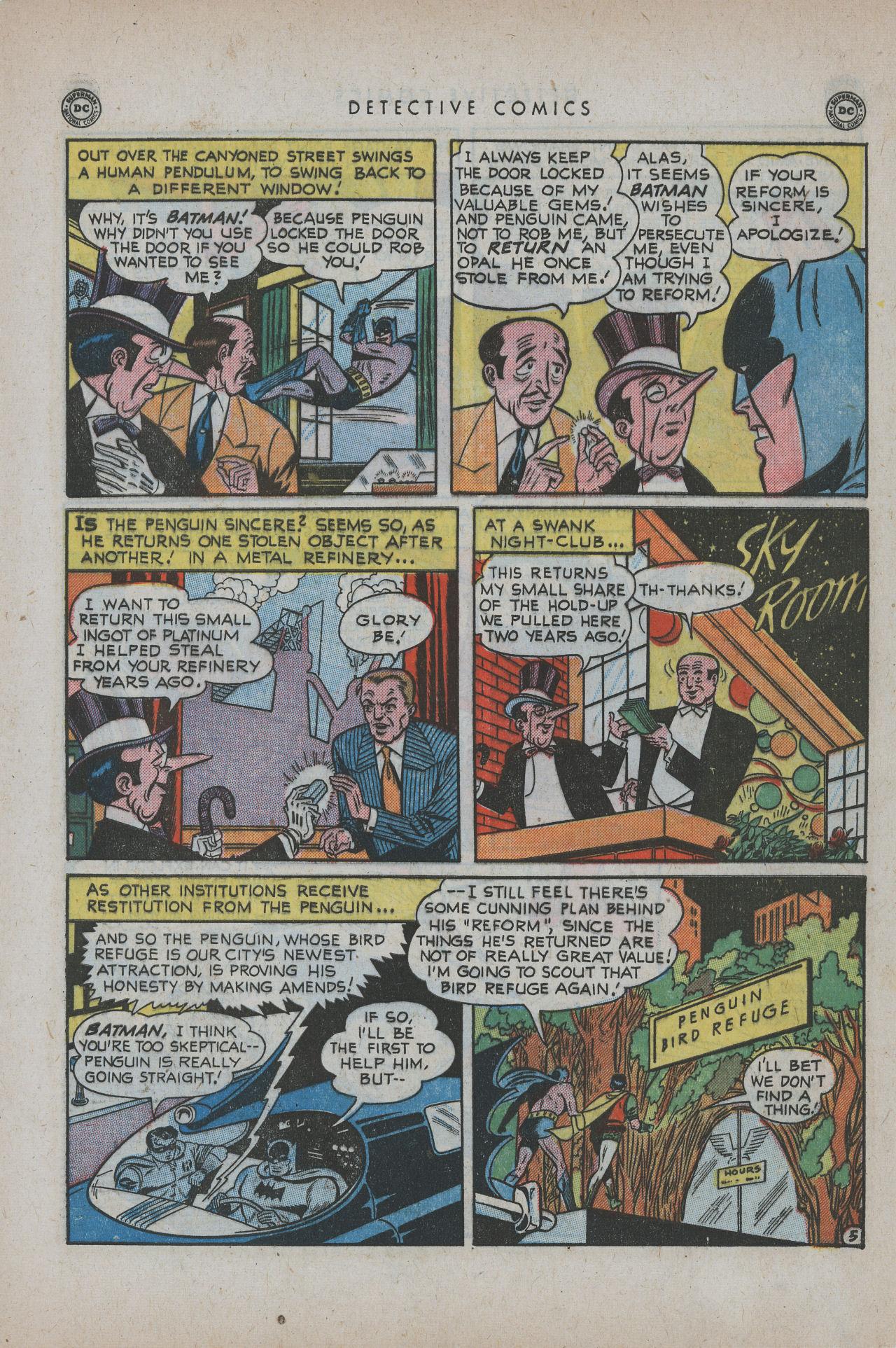 Detective Comics (1937) 171 Page 6