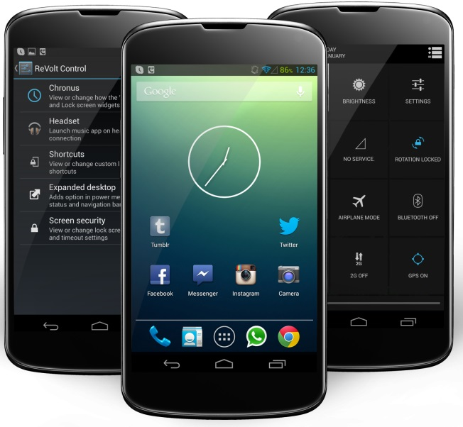Known & Unknown Custom ROMs For Android Smartphone - BOK face