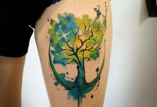 Tatuajes Estilo Cósmicos Tu Tatuaje