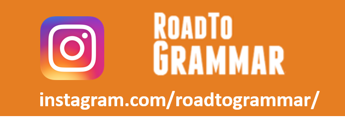 Road to Grammar has an Instagram page: