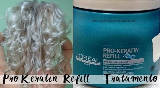 Pro-keratin refill