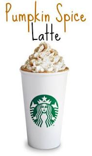 Starbuck's Pumpkins Spiced Latte