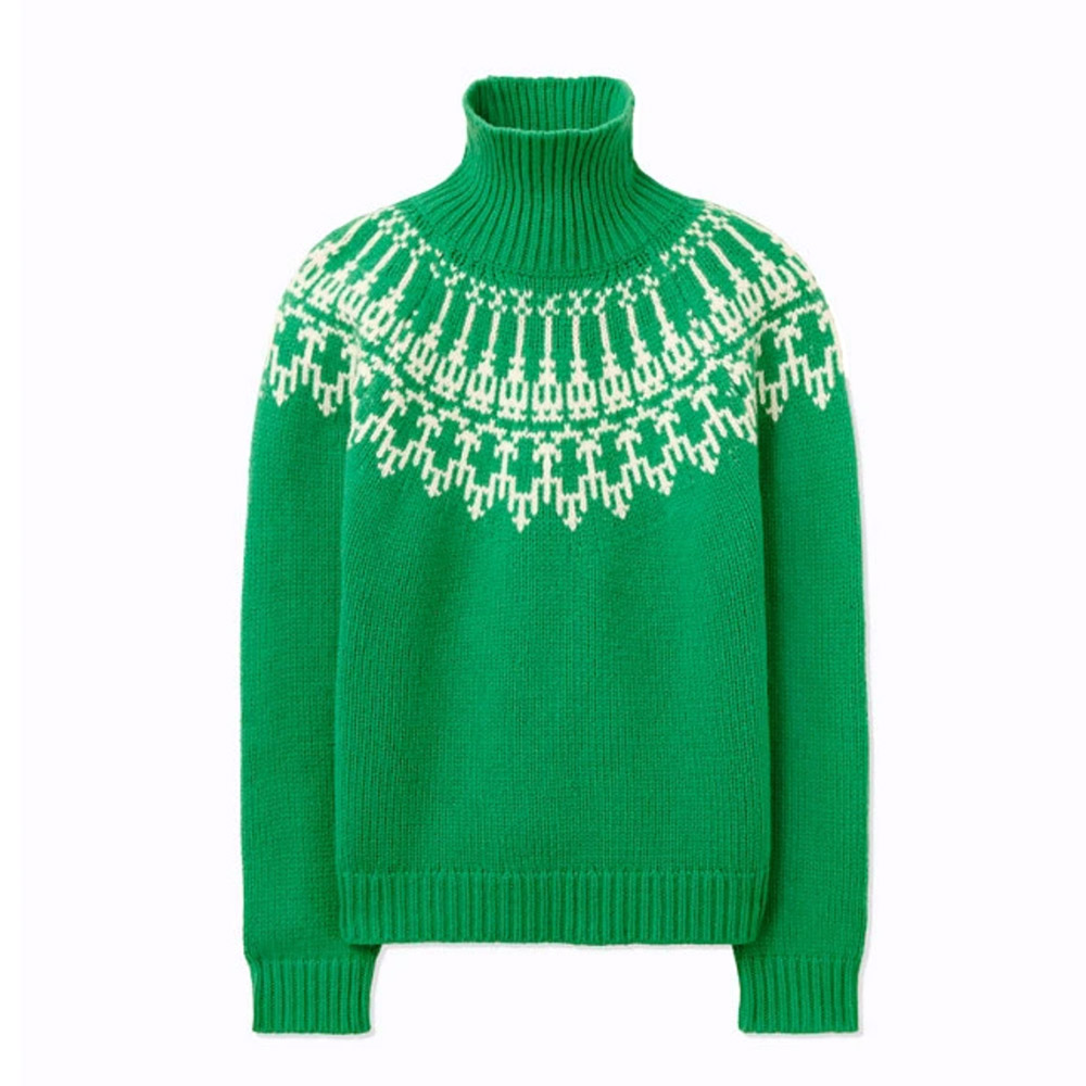 Tory Burch fair isle sweater