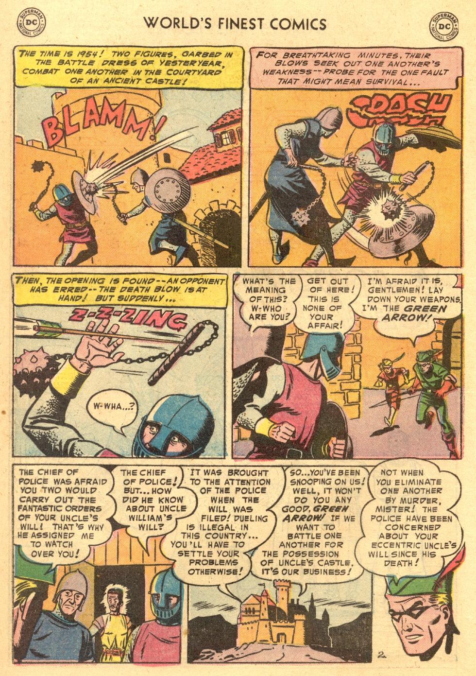 Read online World's Finest Comics comic -  Issue #70 - 22