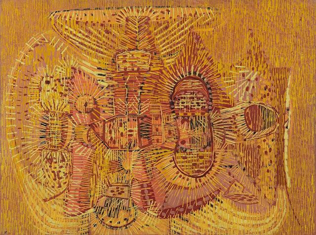 Lee Mullican - Abstract Art