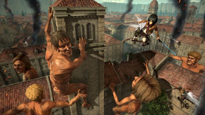 YRyLGrmmdRnnrQ2inH3Sui-650-80 Attack on Titan 2 confirmed for PC, so check out some new screens Games