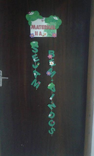 Decoração Sapinhos Sala de Aula Espaço do Educador