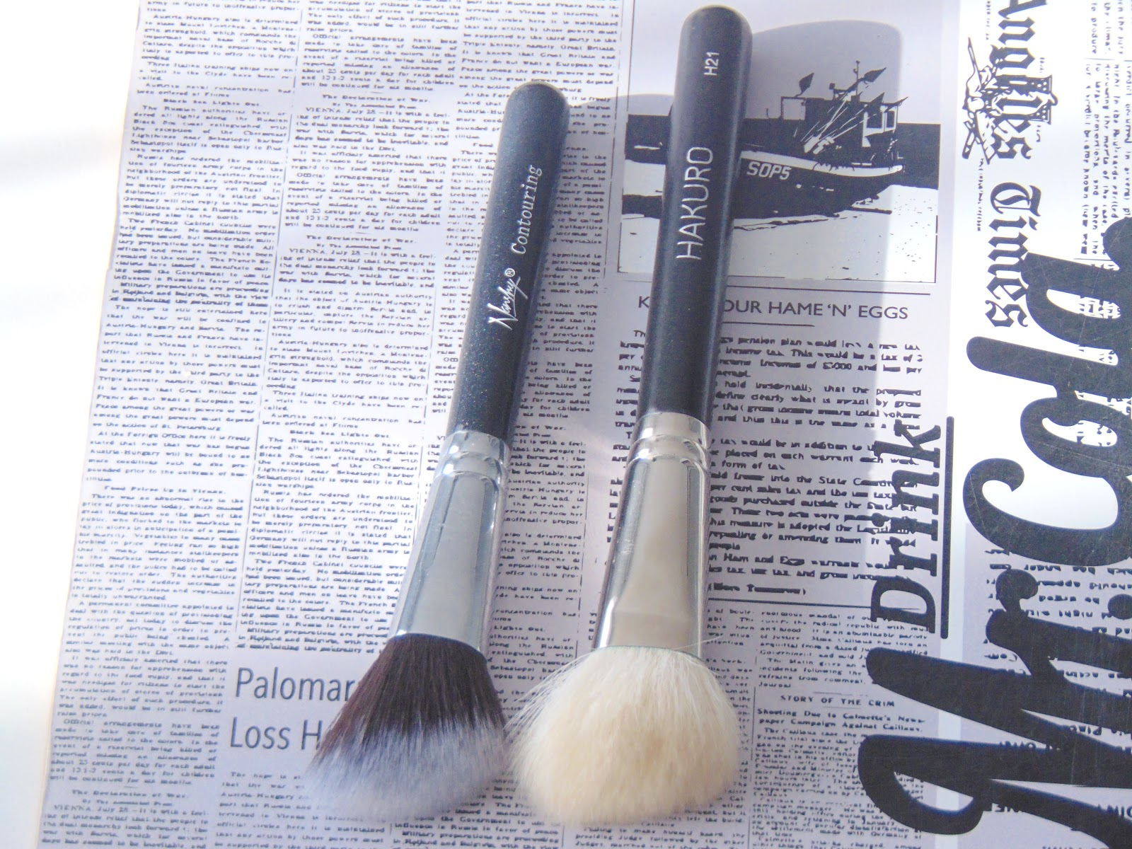 pędzle nanshy brushes onyx black hakuro h21