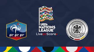 نتيجه مشاهده مباراه فرنسا والمانيا اليوم 16-10-2018 انتهت بفوز فرنسا 2 - 1
