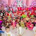 Niños de los Cendis llevan mensaje navideño a sus familiares