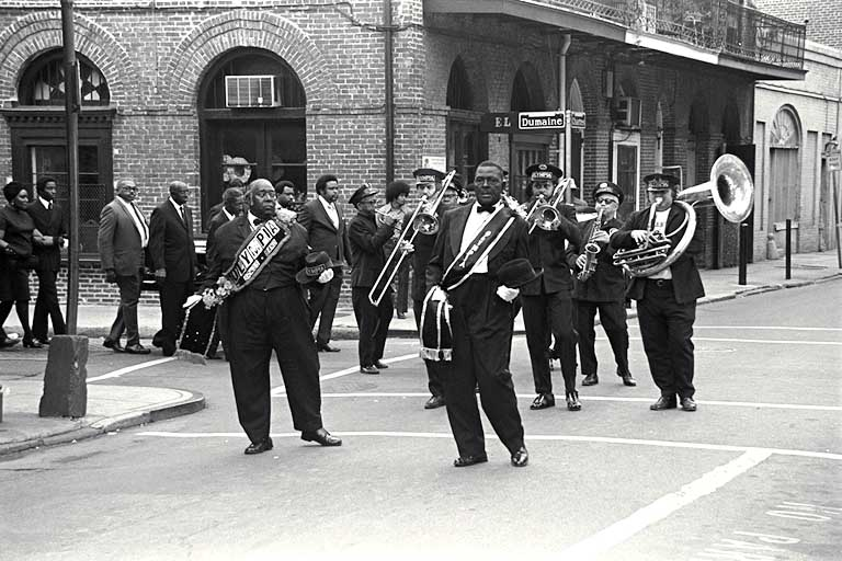 jazz began in what area of new orleans