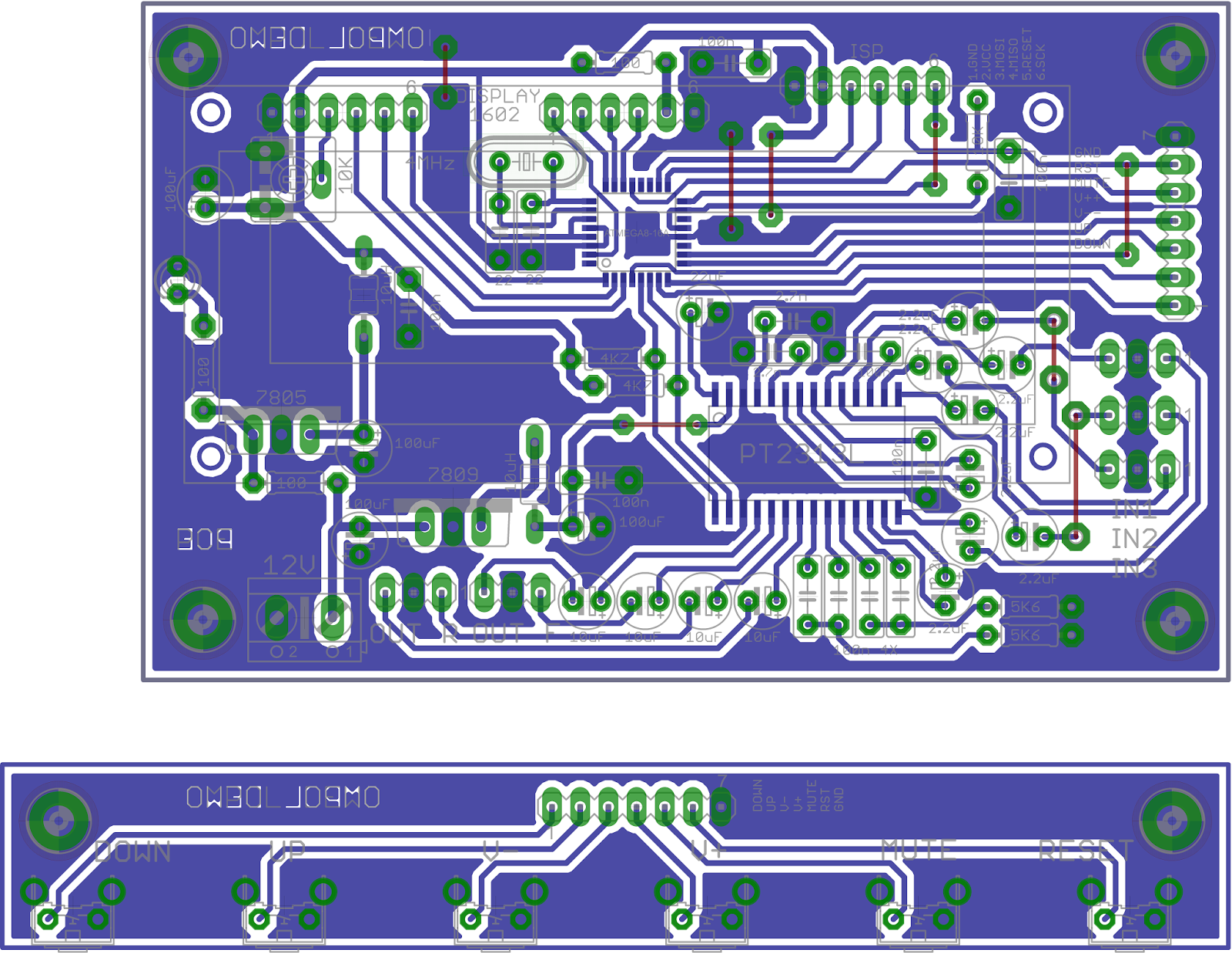 Dunia Elektronika Babu Purwodadi: Tone Control Digital dengan