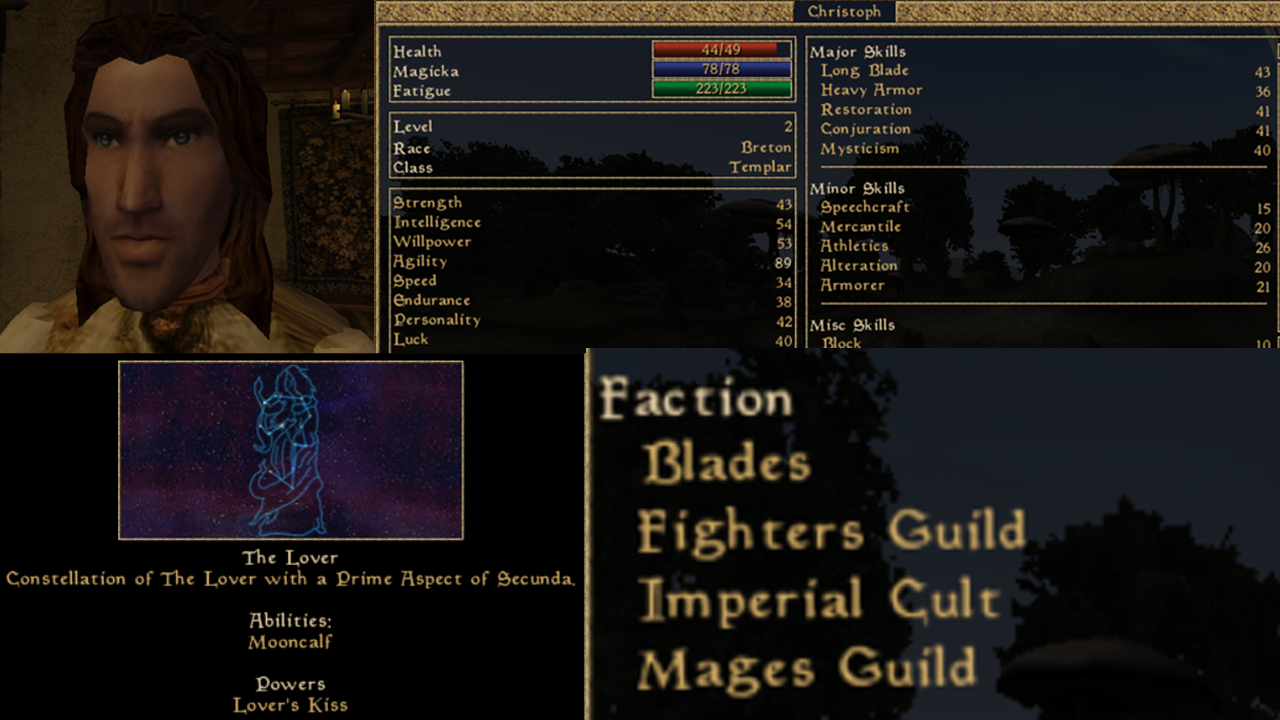 OpenMW Morrowind Loadout for Exploration, Crafting and More