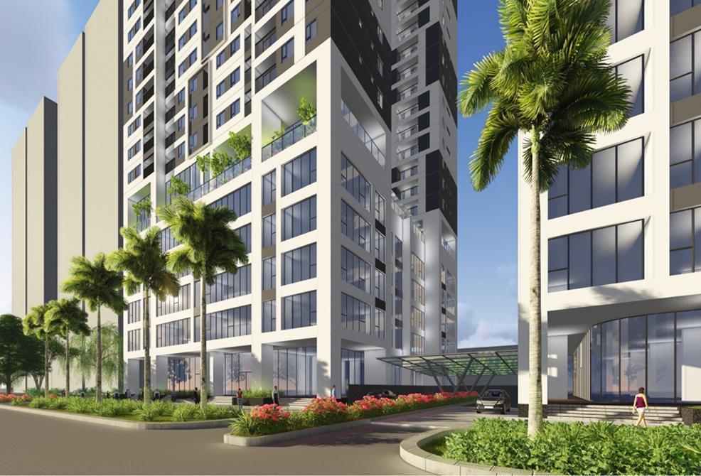 Chung cư Phú Mỹ Complex - Công trình xanh và thông minh đích thực