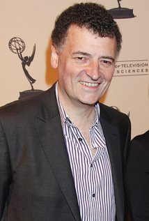 Steven Moffat. Director of Sherlock - Season 1