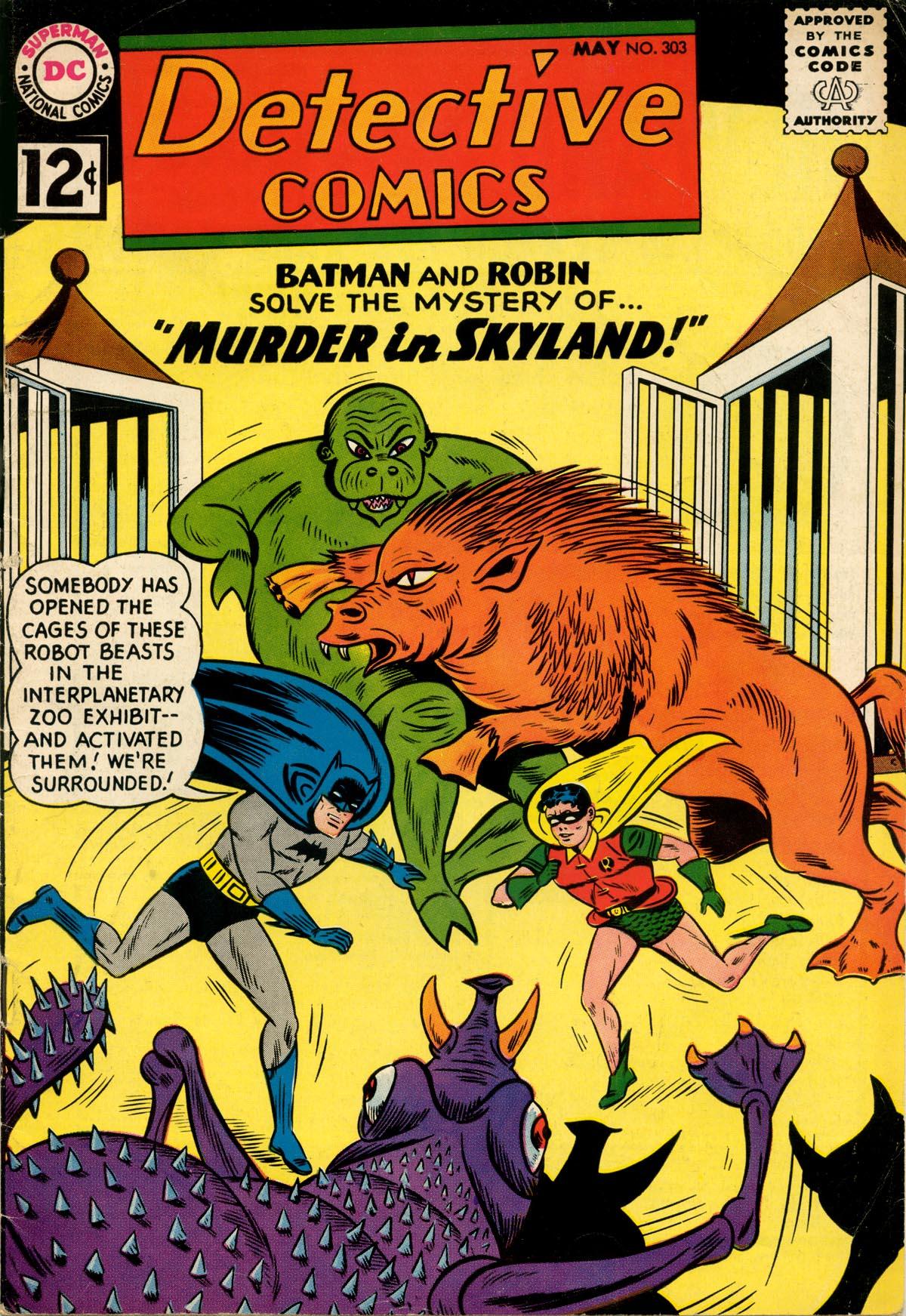Detective Comics (1937) 303 Page 0