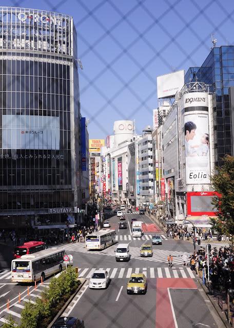 Tokyo Travel: Shibuya crossing