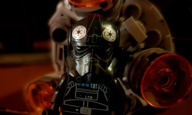 TIE pilot, A New Hope, lego Star Wars