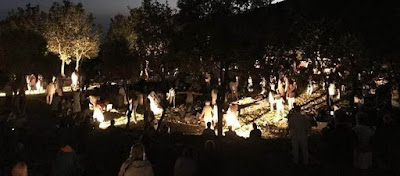 Ολονύχτια παράσταση στο ναό του Επικούριου Απόλλωνα- Πάνω από 800 άτομα με υπνόσακους