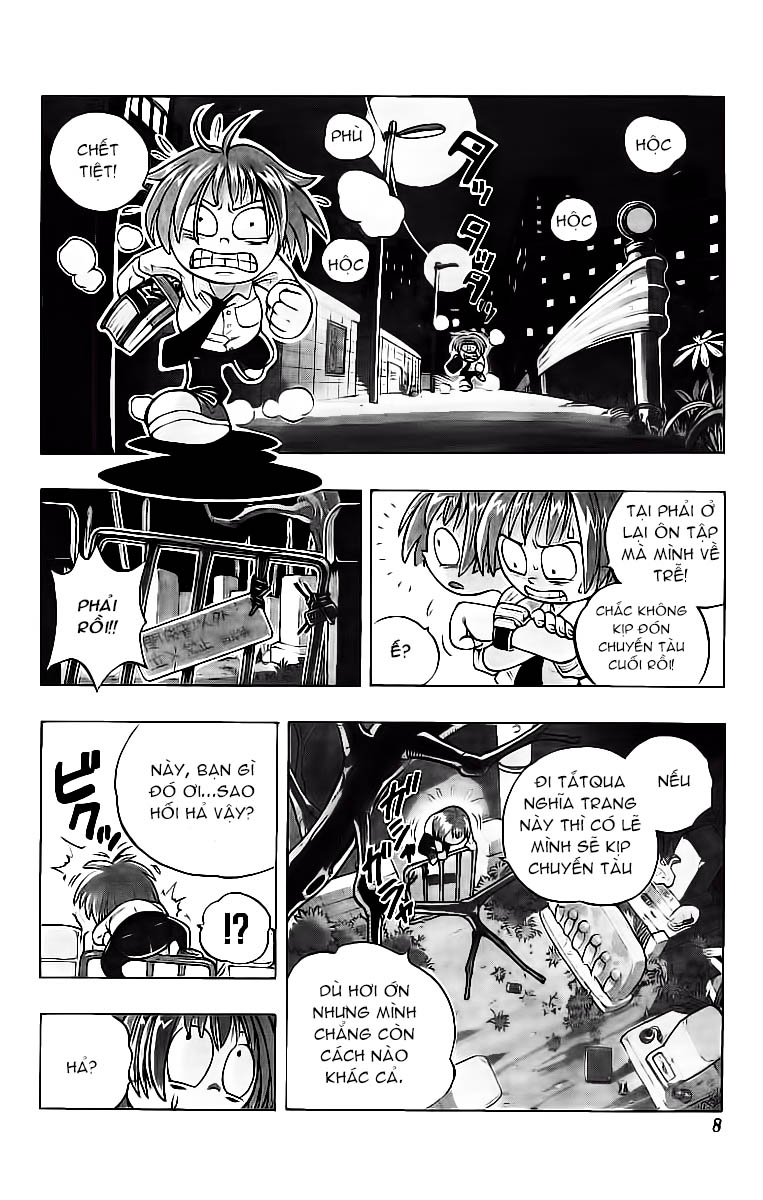 Shaman King [Vua pháp thuật] chap 1 trang 9