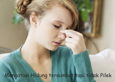 5 Cara Meredakan Hidung Tersumbat tapi Tidak Pilek