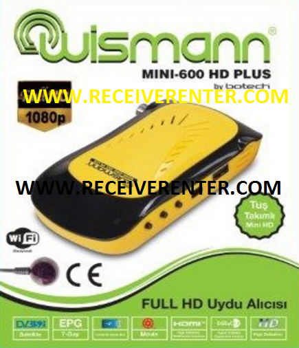 WISMANN MINI-600 HD PLUS RECEIVER BISS KEY OPTION