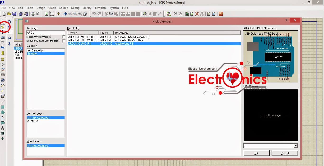How to add Arduino Library in to Proteus 7 & 8 - Electronics