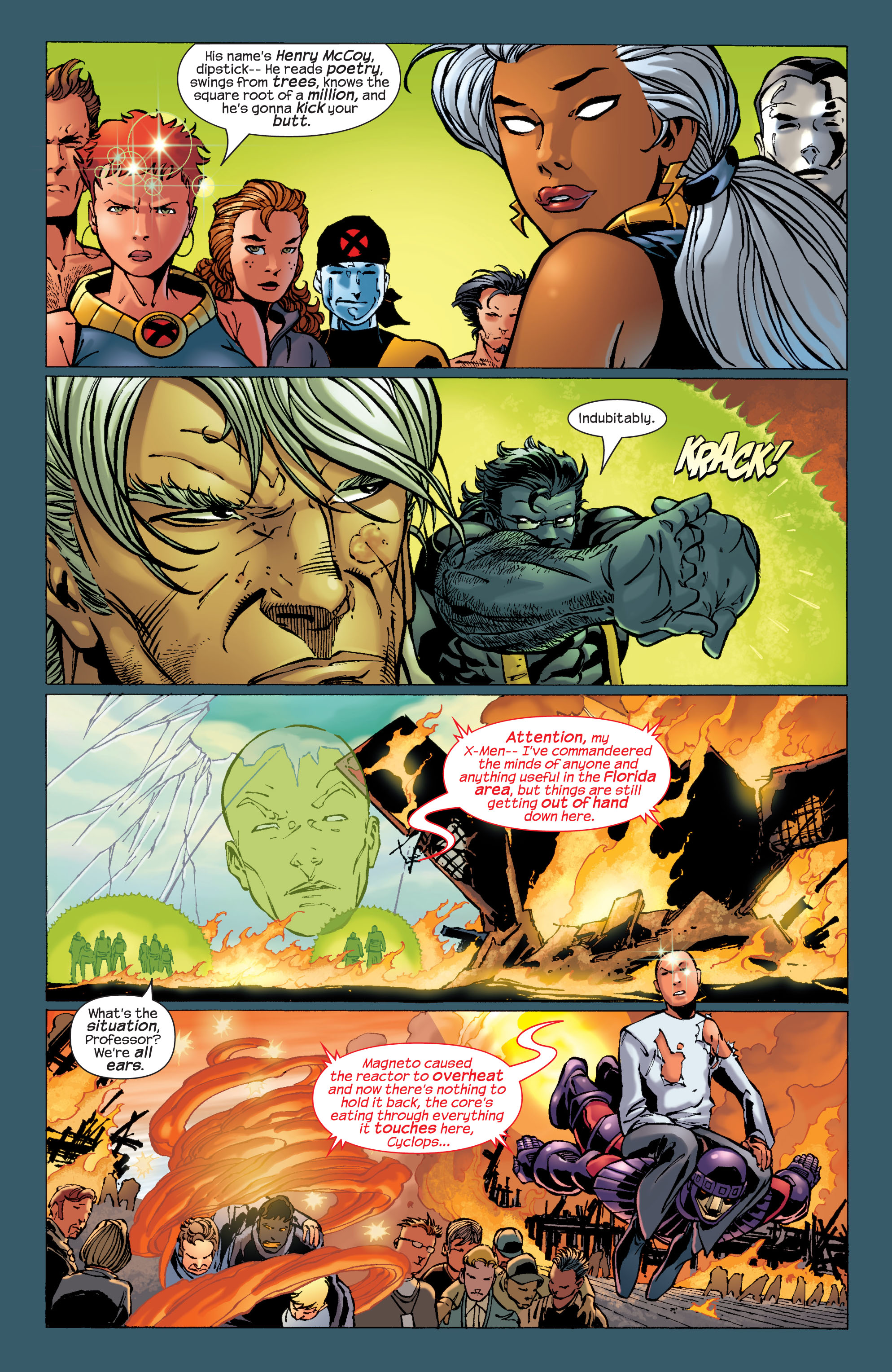 Read online Ultimate X-Men comic -  Issue #31 - 17