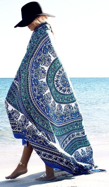telo mare rotondo telo mare rotondo estate 2017 roundie beach  come indossare il telo mare rotondo