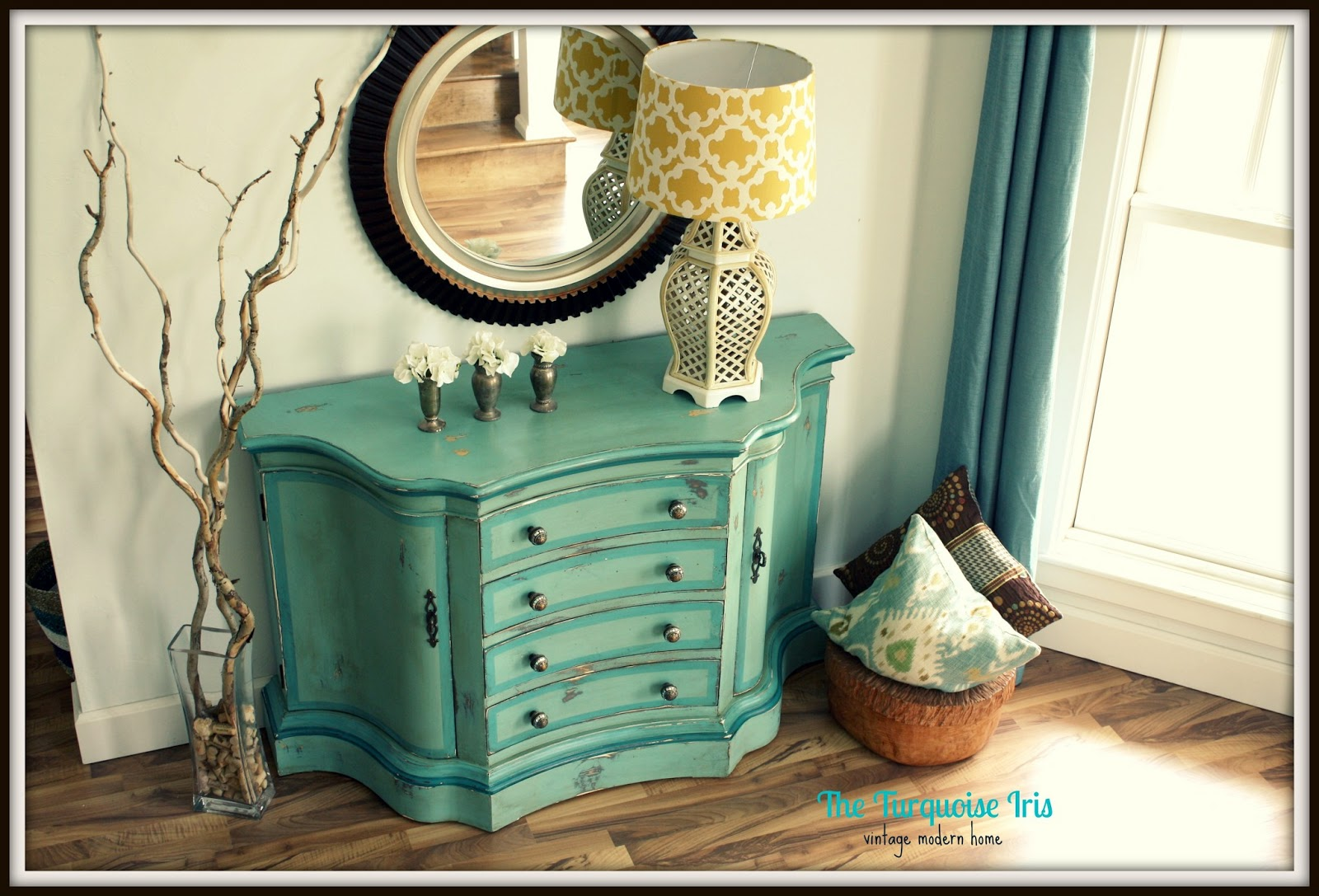 The Turquoise Iris Furniture Amp Art Teal Blue Amp Green