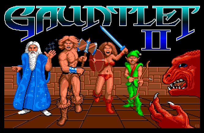 Gauntlet II - Commodore Amiga & Atari ST - 1989
