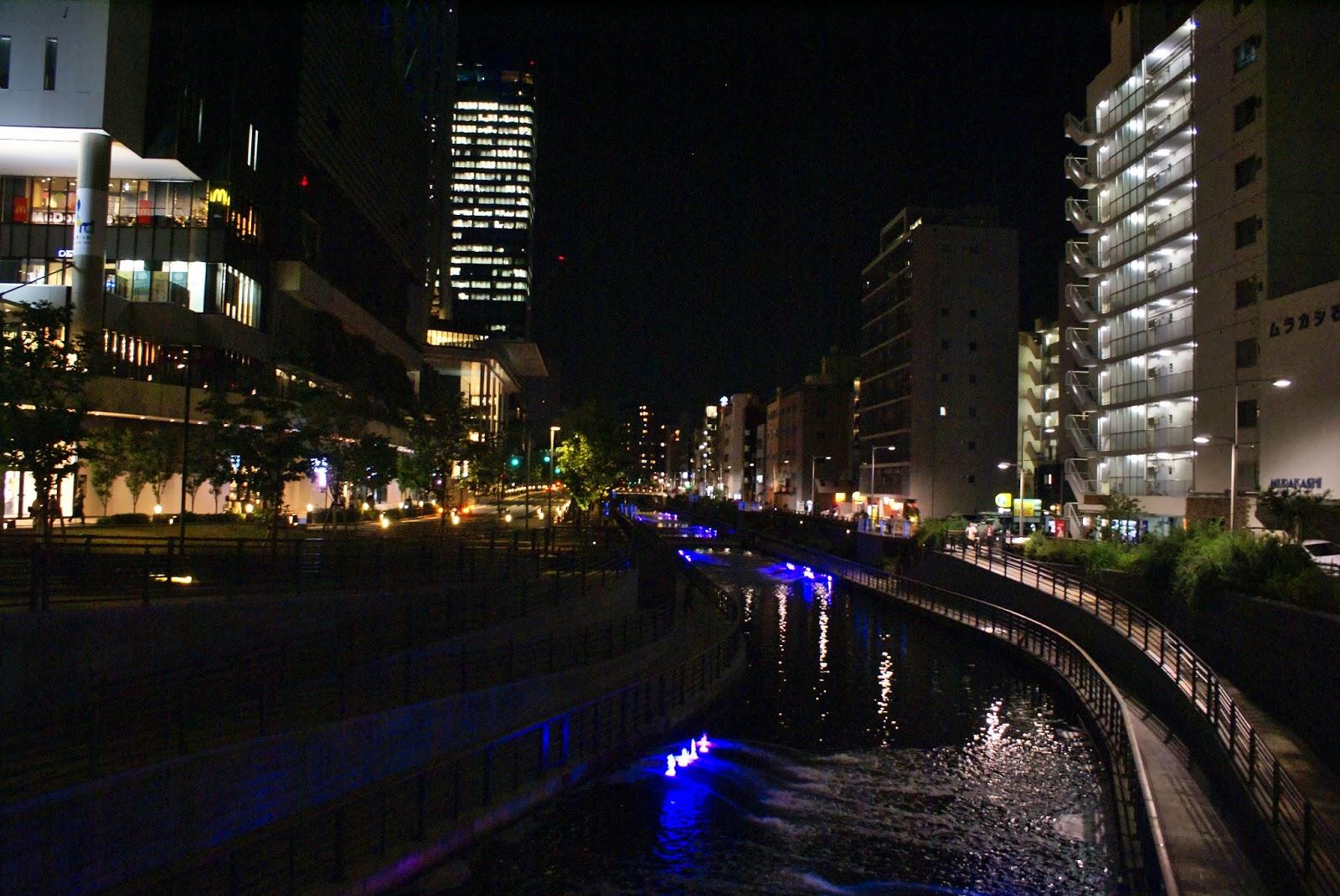 tokyo sky tree asakusa japan asia street night