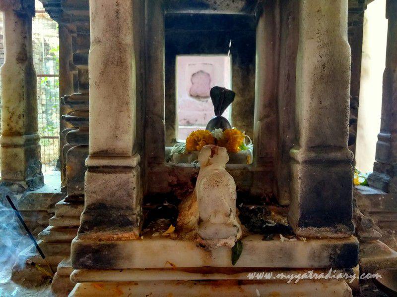 Shiva temple at Dhundiraj Ganesha Temple, Vadodara, Gujarat