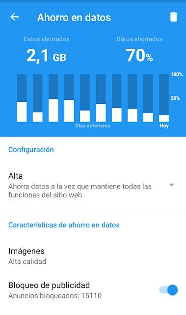 tutorial gastar menos megas conexion datos