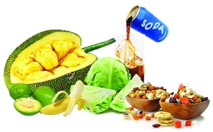 Hasil gambar untuk Hindari makanan yang banyak mengandung gas