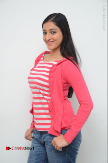 Telugu Actress Mouryani Latest Pos in Blue Denim Jeans  0043.JPG