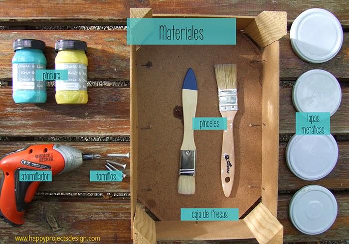 carrito handmade: materiales