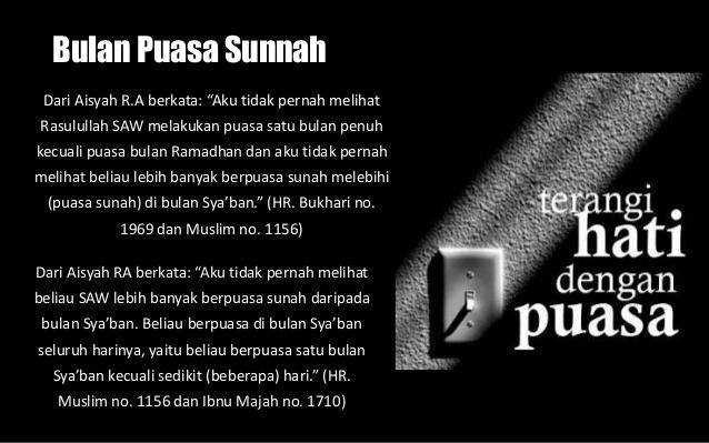Bulan Sya`ban Ala Rasulullah, Amalan Sunnah dan Keistimewaan di Bulan Sya`ban
