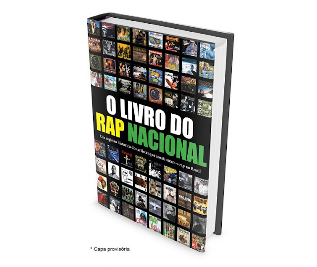 O portal rap nacional vai lançar uma enciclopédia do rap brasileiro