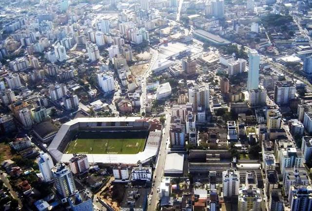 Vista aérea de Criciúma