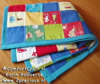 Afwerken Van Een Quilt.Web Log Karin Robberse Tutorial Comfort Quilt Afwerken