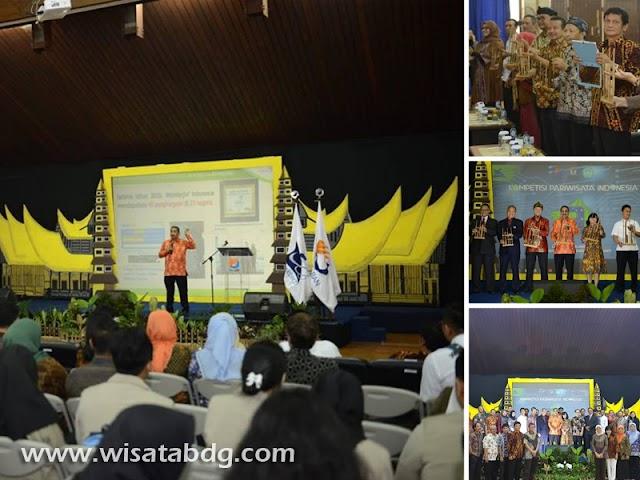 Menpar Buka Kompetisi Pariwisata Indonesia ke-9 di Polban