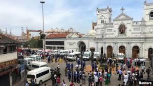 srilanka attack 21 April on church