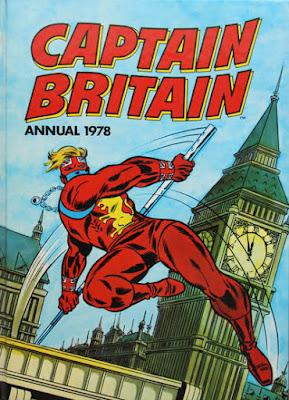 Marvel UK, Captain Britain Annual 1978