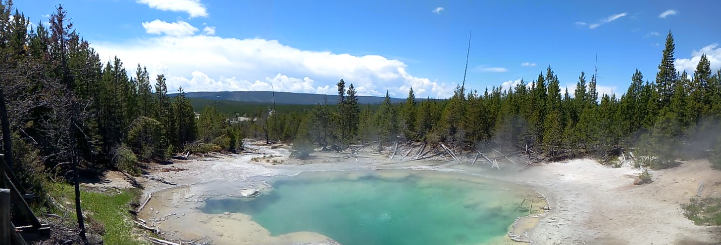 Yellowstone, Wyoming, usa, parc, mud volcano