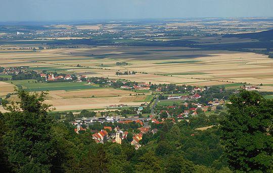 Srebrna Góra i Przedgórze Sudeckie.