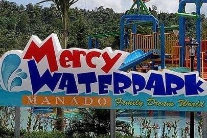 Wisata Kolam Renang Mercy Waterpark Medan Manado dan Tiket Masuk