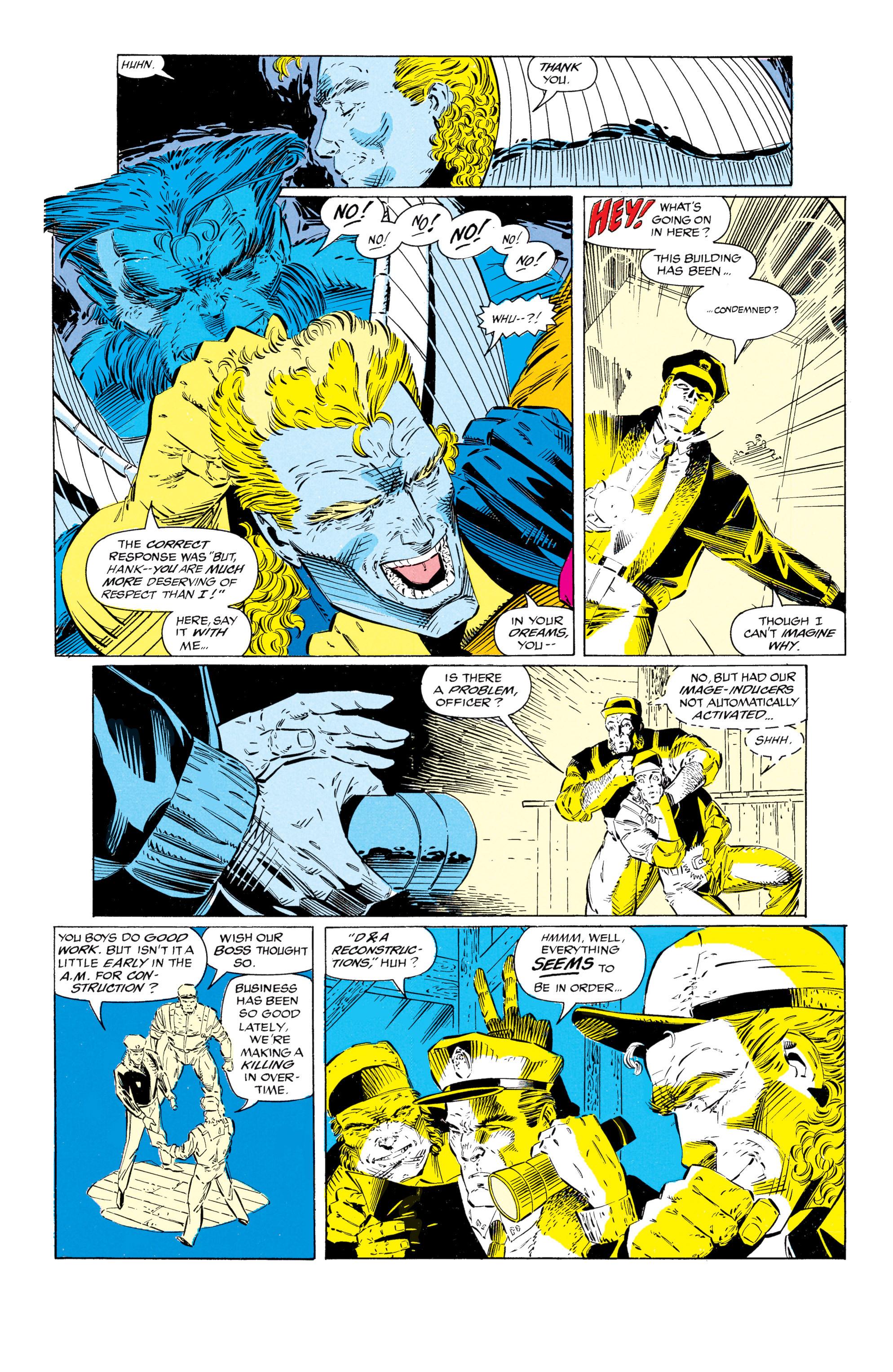 Read online Uncanny X-Men (1963) comic -  Issue #297 - 17